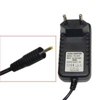 Wholesale dc power jack tablet resale online - DC V A mah AC Power Adapter Wall Charger For Android Tablet PC With Round mm Jack US EU Plug