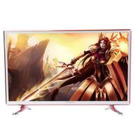 уникальный hd оптовых-40-дюймовый светодиодный HD-телевизор Apple Style Ультратонкий ультра узкий каркас Уникальный дизайн Романская мода HD Red Gold Television