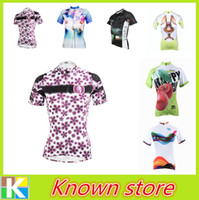 Wholesale Clothing Waterproof Woman - 2016 PALADIN Team Womens Wear Pro Ropa Ciclismo Cycling Jersey Bike Clothing Bicycle Short Sleeve Top Purple XS-XXXL