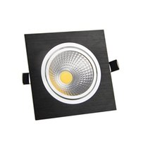 Wholesale Cob Downlight Ac85 - LED Downlight COB Dimmable 7W 9W 12W 15W Angle Adjustable AC85-265V Ceiling Recessed COB Downlight LED Spot Light UL CE