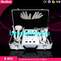 Wholesale Salon Gloves - 2016 BIO Magic Glove Microcurrent Face Lift Facial Machine for Tighting Facial Skin Spa Salon Professional Micro-current system