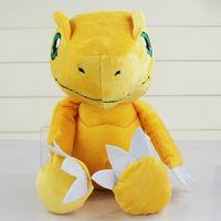 Wholesale Digimon Movie - Anime Digimon Adventure YAGAMI TAICHI Agumon Plush Toys Soft Stuffed Dolls Kids Gift free shipping New