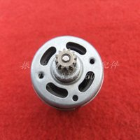 Wholesale Eletric Tools - Free shipping! Wholsaler Charge electric drill motor DC 7.2 9.6 12 14.4 18V (12 teeth)(9.9mm) 650BF for makita tool   eletric tools parts