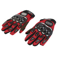 Wholesale Auto Race Gloves - New Professional Auto Racing Gloves Men Motorcycle New Gloves Protect Hands Full Finger Women Breathe Patchwork Flexible Glove