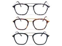 korrekturgläser großhandel-TR + Metall Material Klarglas Brille Rahmen Arbeiten Lesen Brillen Rahmen Mode Brillenfassungen