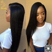 Wholesale Silky Straight U Part Wigs Human Hair Brazilian Hair Glueless U Part Human Hair Wig Middle Part U Shaped Wigs For Black Women