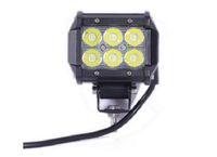 ingrosso luci di inondazione guidate da atv-18W LED Light Bar 4WD Flood Beam Offroad Driving Fendinebbia ATV SUV Grado di protezione: IP67