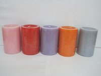 Wholesale Fragrances Candles - 50-55 Hours Scented Candles Pillar Candle With A Variety Of Fragrance,Aroma Paraffin Wax Aromatherapy Candles Product Code:75-1007