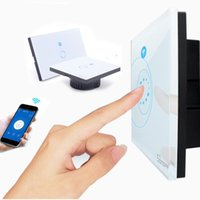 Wholesale WiFi Wall Touch Light Switch gang ON Off Wireless Remote Control Timing Switch IOS Android Remote Home Automation