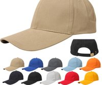 Wholesale Sports Caps Wholesale Price - professional factory price 100% cotton blank custom your design embroidery logo fashion baseball cap sport hat with brass buckle closure