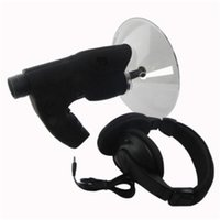 Wholesale Spy Ear Listening Device Wholesale - Spy Hidden Bird Watcher Parabolic Microphone Monocular Bionic Ear for Long Range Listening Device Bird Watcher up to 300FT