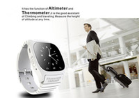 Wholesale Wrist Watches Wholesale Prices - 2016 M26 Bluetooth Smart Watches for iPhone 6 6S Samsung Android Phone Smartwatch for Men Women Factory Price