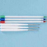 Wholesale Using Fan Brush - Free shipping For 6Pcs Set Nail Art Designs Using Brushes Fan Brush Nail Art