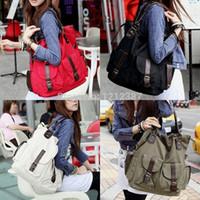 Wholesale Handbag Tote Korea - Fashion Korea Style Lady Girls Casual Canvas Large Tote Bag Handbag Shoulder Bag HB88