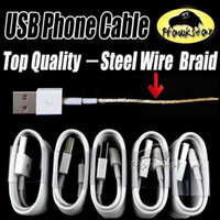 Wholesale Ipad Charging Cord - 1M 3Ft 2M 5FT Micro USB Cable Sync Data Cable Charging Cords Charger Line With Retail Box For Samsung Galaxy S6 S7 Edge LG Huawei