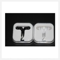Wholesale Earphone Crystal For Iphone - Portable Ear Buds Earphone with microphone Handsfree for iPhone 6 plus Samsung s5 s6 htc m7 sony ipad 4 5 crystal retail box