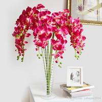 ingrosso decorazioni del partito di api-Bei fiori artificiali di Phalaenopsis 80 cm / 32