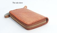 Wholesale Large Wallet Clutch Organizer - 2017 AMEISY Women's Large Capacity Soft Cowhide Leather Wristlet Clutch Smartphone Zipper Wallet Organizer with Shoulder Strap Free Shipping