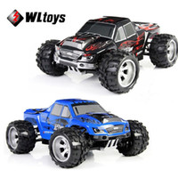 Wholesale Electric Funny Car - Wltoys Racing RC Car 50KM H High speed 4WD off-Road RC Monster Cars Remote control Car Toys Funny Outdoor Toy