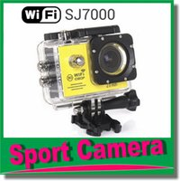 Wholesale Mini Waterproof Video Recorder - Sport camera SJ7000 WiFi 1080P Action Camera 1080P Full HD 2.0 LCD 30m Waterproof DV video Sport extreme mini cam recorder JBD-N3