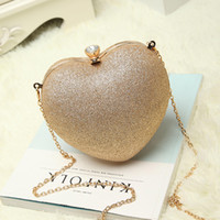 Wholesale Evening Formal Clutch Bags - New Ladies Luxury Stars Clutch Diamond Evening Bag Fashion Women Formal Shoulder Bags Chains Wedding Party TRD-008