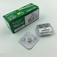 Wholesale 377 Battery Silver Oxide - Wholesale-Japan 377 SR626SW AG4 button cell watch battery single grain genuine wholesale electronic packaging