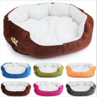 Wholesale Petcircle Hot Sale Little Monkey Circular Pet Dog Kennel Can Unpick And Wash High Quality Fleece Pet House Dog Bed
