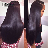 Wholesale Cheap Cambodian Virgin Weave - Brazilian Peruvian Indian Cambodian Malaysian Virgin Human Hair Weave Straight 3 4 5Bundles Lot Double Weft Cheap Brazillian Hair Extensions