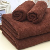 100% Cotton Hotel Set Asciugamano bagno Guest House Thicken Tintura Asciugamani da bagno Hand Towel Wash Washings 35 * 75Cm 120G