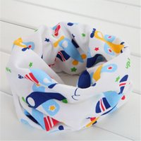Wholesale Thin Silk Baby - cotton thin baby scarf with heart animal trees car flower cute bear pattern kids child collar children neck scarf