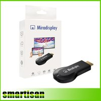 google tv caixa hdmi vara venda por atacado-Miradisplay TV Vara HDMI 1080 P WiFi Display Receptor Dongle Suporte Miracast
