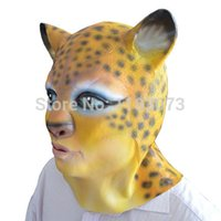 Bauta Mask original mask designs - latex Leopard Head Mask Sexy Masks for Women in Party Vivid Shape Original Design High Quality
