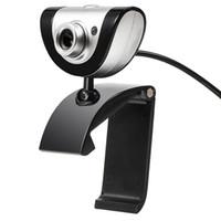 lcd überwacht china großhandel-A880 16 M Pixel Webkamera Clip-on 360 Grad HD USB Kamera Webcam mit Mikrofon MIC Für LCD Monitore Laptop-Computer