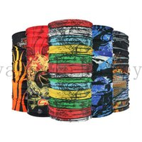 Wholesale Bicycle Headwear - Sport Bike Bicycle Cycling Riding Magic Headband Sport Scarves Cycle Neck Tube Warmer Scarf Scarves Headwear Bandanas