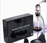 Wholesale Luxury Wine Set - Low-key Luxury Wine Decanter Set,Red Wine Aerator Filter,Wine Essential Equipment gift with bag hopper filter and gift box