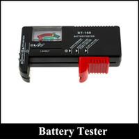 Wholesale Power Checks - Battery Tester Universal Handheld battery Volt checker tester AA C D 9V Checks power level of all 1.5V 9V batteries