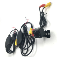 Wholesale Wireless Back Camera For Car - New 8 Led Car Mini Back Up Vehicle Car Rearview Camera + 2.4G Wireless Transmitter Receiver for Parking Assistance