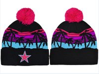 Wholesale Selling Knitted Hats - hot sell winter Beanie Knitted Hats All 32 Teams baseball football basketball beanies sports team Women Men popular fashion winter hat DHL