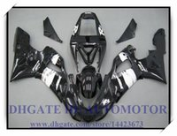 Черный рояльный BRAND NEW обтекателя KIT 100% FIT FOR YAMAHA YZF R1 YZF1000 1998-1999 YZFR1 1998 1999 YZF R1 98 99 # VJ335