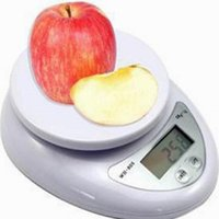 Wholesale 5kg Digital Scale - 5Kg 1g Portable Digital Scale Kitchen Good Helper Electronic Weight Scales battery included B05