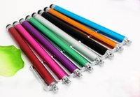 Wholesale stylus pens for iphone 5s for sale - Stylus Pen Capacitive Touch Screen For Universal Mobile Phone Tablet iPod iPad cellphone iPhone s S plus Samsung S7 S6 note