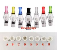 Wholesale ego replacement coil - Rich Styles Glass Globe Atomizer Dry Herb Vaporizer Replacement Wax Vapor Tank with Ceramic Wax Coil Head for EGO T Evod Battery