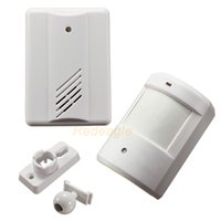 Wireless Driveway Garage Infrared Alert Sistema sicuro Motion Sensor Alarm Patrol campanello Wireless Detector
