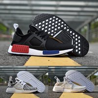 Wholesale Camo Cheap - 2017 ADIDAS Original NMD XR1 PK Running Shoes Cheap Sneaker Primeknit OG PK Zebra Bred Shadow Noise Duck Camo Core Black Fall Olive