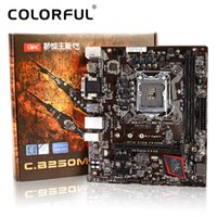 Placa madre colorida de la placa madre Battle AX C.B250M-HD V20 para Intel B250 LGA 1151 Socket SATA 6Gb / s USB 3.0 DDR4 mATX Mainboard