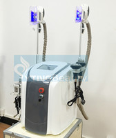 Wholesale Beauty Equipment Freeze - Two Handles Fat Freezing Machine Vacuum Cavitation Ultrasonic RF Body Shaping Weight Loss Cellulite Reduction Salon Beauty Equipment