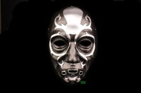 Wholesale Death Eater - Brand New Halloween Horrible Private Party Harry Potter Mask Thoroughbred Death Eater Malfoy. Lucius Cosplay Resin Masks Free Shipping