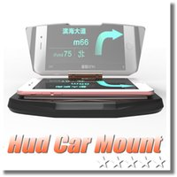Universal Navigation GPS Support HUD Head Up Display Support De Voiture Pour 6s iphone SAMSUNG S6 bord Smartphone