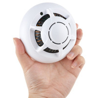 Wholesale dvr cctv ip wifi for sale - Smoke Detector WiFi Wireless IP P2P Camera Convert Nanny Security Camera Video Recorder Office Nanny CCTV DVR Mini DV