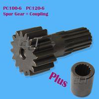 Wholesale Gears For Motor - PC100-6 PC120-6 Excavator Final Drive Coupling + Spur Gear Kit TZ269B1015-00 TZ270B1006-00 TZ264B1107-00 for GM18 Travel Motor